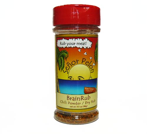 BrainRub Dry Rub/Chili Powder | Senor Pelon Sauces and ...